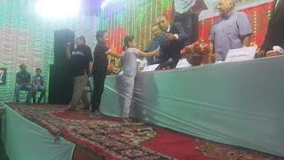 مؤسسة السيده رقيه تكرم عدد من حفظة القرآن الكريم خلال حفلها السنوى بالمحله