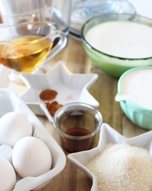 Eggnog en licuadora - receta paso a paso