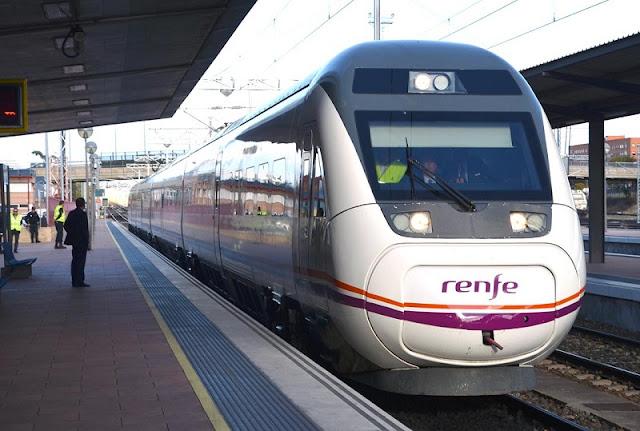 Trem em Madri