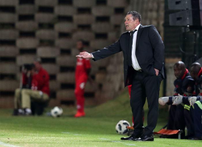 Stellenbosch FC head coach Steve Barker
