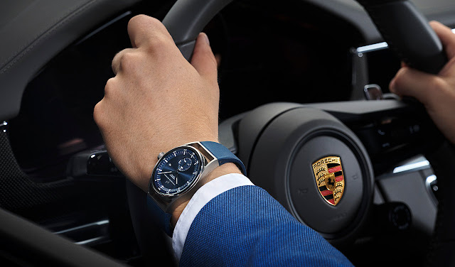 Porsche Design Sport Chrono Subsecond 6023.3.11.002.07.2 in blue
