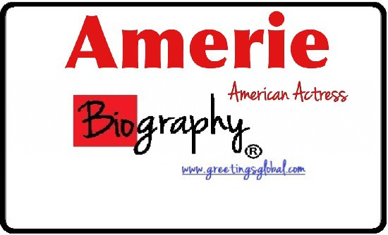 biography of Amerie