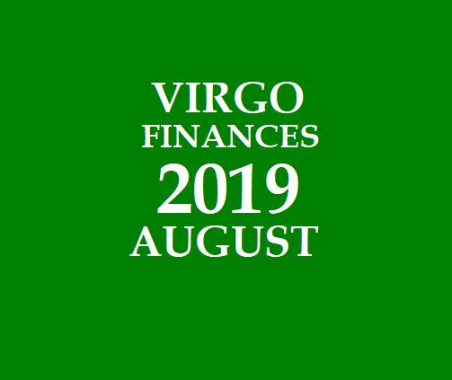VIRGO - KANNI RASI: VIRGO DAILY HOROSCOPE 2019 AUGUST