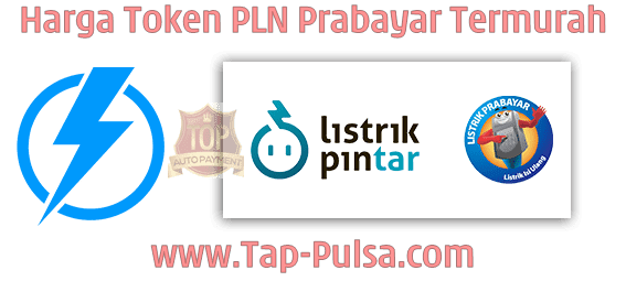 Tap-Pulsa.Com Agen Pulsa Listrik Token PLN Prabayar Termurah