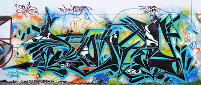 Somey graffiti wall