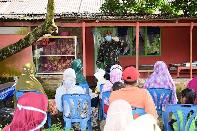 Lebih Dekat Dengan Rakyat, Yonarmed 2/105 Laksanakan Rapid Test Gratis Kepada Warga Sekitar Asrama