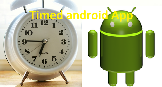 Create Time out android App