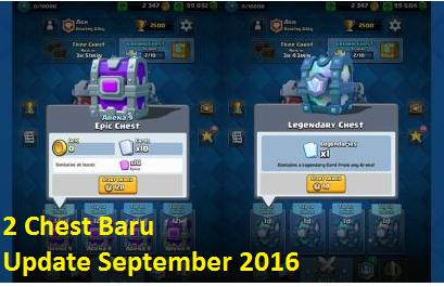 3 Bocoran Update Clash Royale Tanggal 19 September 2016