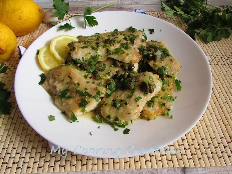 Пиката с филе от риба * Piccata di filetti di merluzzo