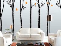 Wände Dekorieren Ideen Wohnzimmer
