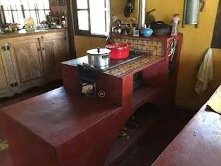 dapur rumah yang nyaman dan indah