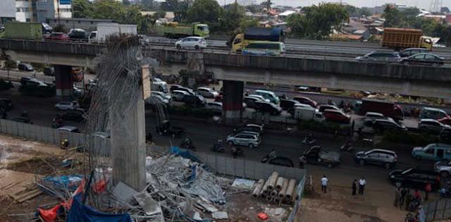 Polri Akhirnya Bentuk Tim Selidiki Infrastruktur Ambruk
