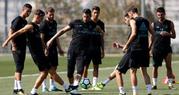 بشرى سارة لفريق ريال مدريد في تدريباته
