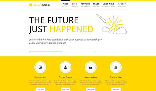 Lemon-wordpress-theme