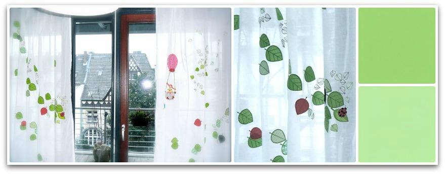 le monde de kitchi vorh nge f rs kinderzimmer. Black Bedroom Furniture Sets. Home Design Ideas