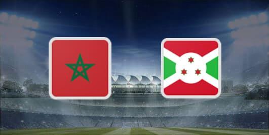 مباراة المغرب وبوروندي بتاريخ 19-11-2019 تصفيات كأس أمم أفريقيا