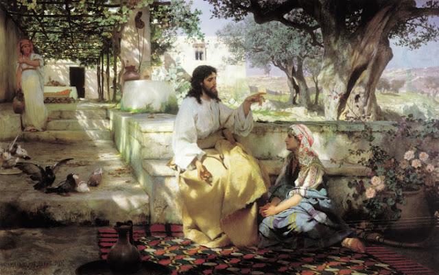 Cristo, Marta e Maria