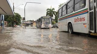 Chuvas: Defesa Civil recebe novo alerta de risco alto para este sábado, em João Pessoa