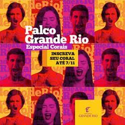 Shopping Grande Rio promove 'Palco Grande Rio' Especial Corais