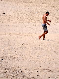 hot sand walk