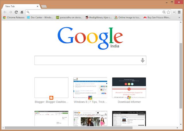 جوجل كروم نسخة 44