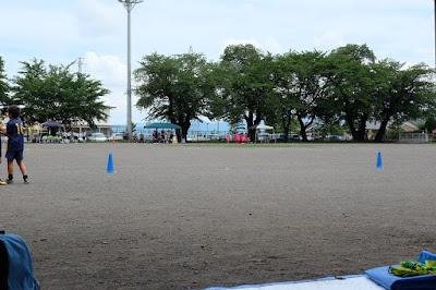 山形村で少年サッカーの審判&生坂サッカースクールのコーチ