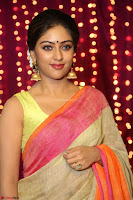 Anu Emmanuel sizzles in khaki saree at Zee Telugu Apsara Awards 2017 07.JPG