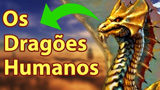 Conheça o dragão mais humano do Dungeons & Dragons!