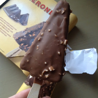 Toblerone Ice Cream Sticks