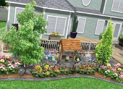 สวนสวยหน้าบ้าน