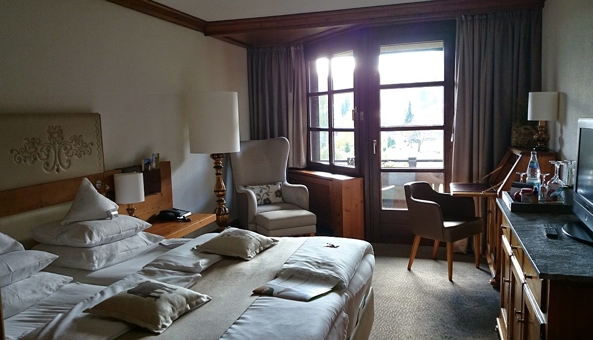 Lindner Parkhotel Oberstaufen: Mein Hotelzimmer