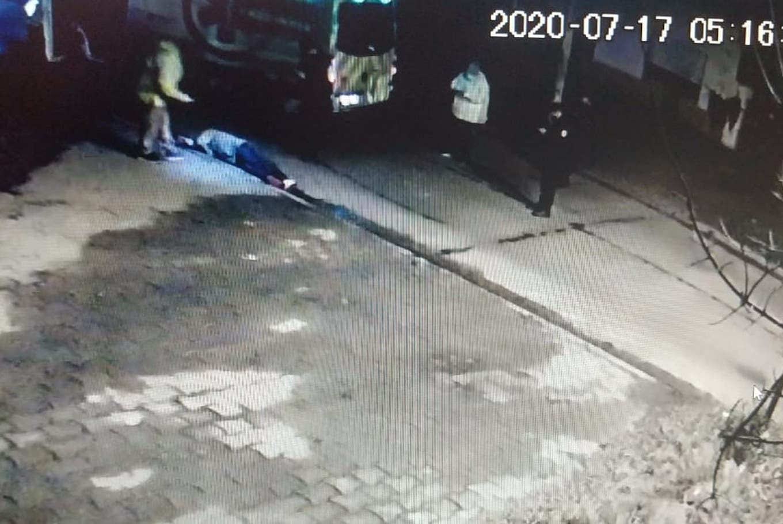 VIDEO: la secuencia completa del robo al jubilado que mató a un ladrón en Quilmes