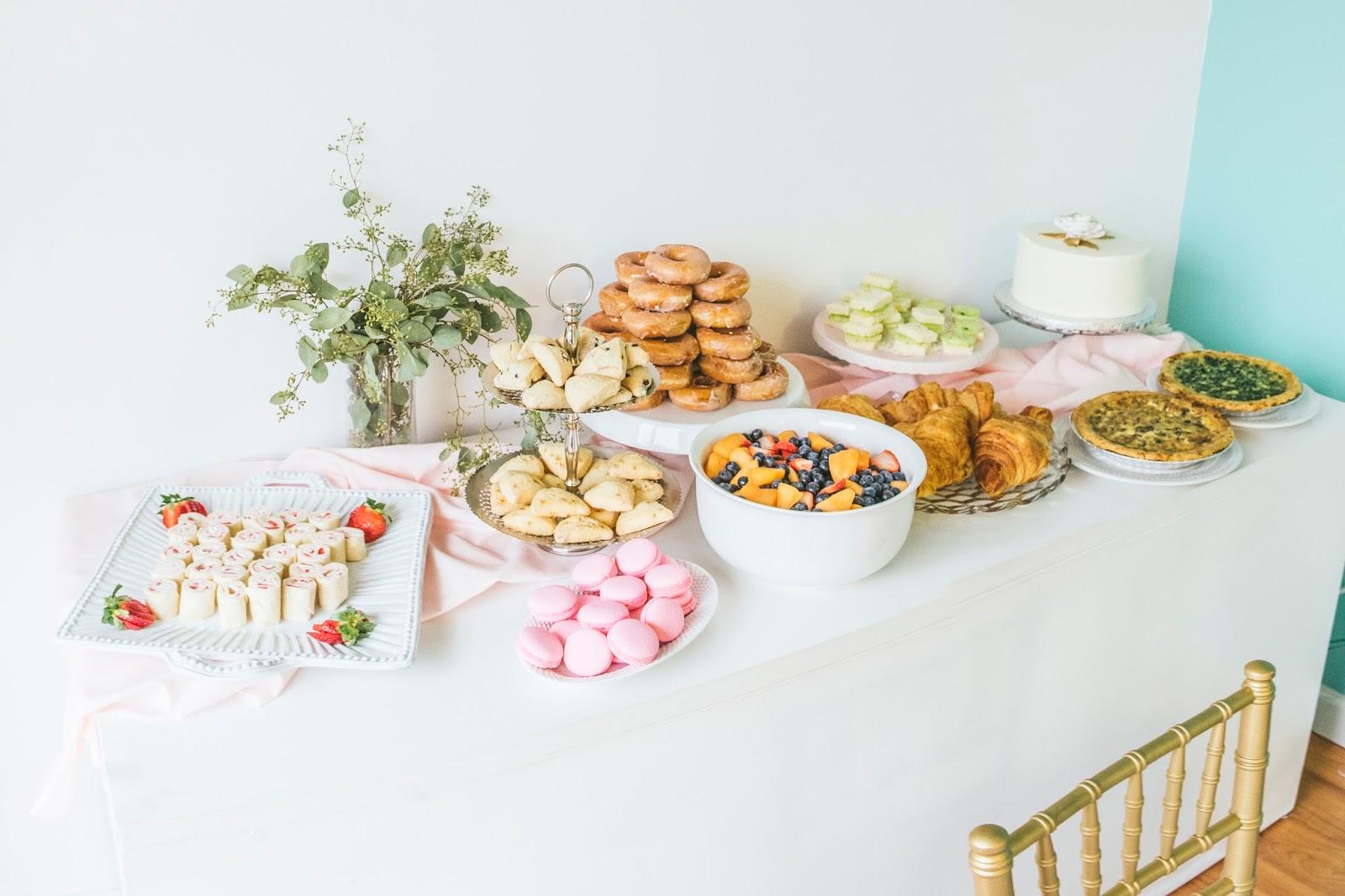 high-tea-valeintines-blogger-brunch-food-spread