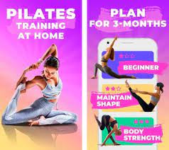 Pilates workout routine-Fitness exercises at home