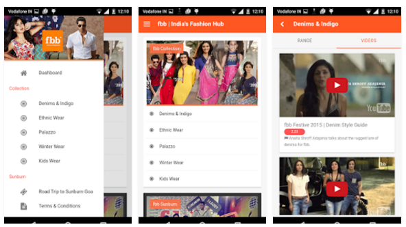 fbb - India's Fashion Hub from Future Retail app - Youth