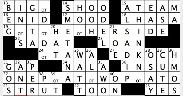 Rex parker does the nyt crossword puzzle so called father of czech rex parker does the nyt crossword puzzle so called father of czech music thu 4 13 17 alternatives to cabs certain opera singer for short uncommon ccuart Gallery