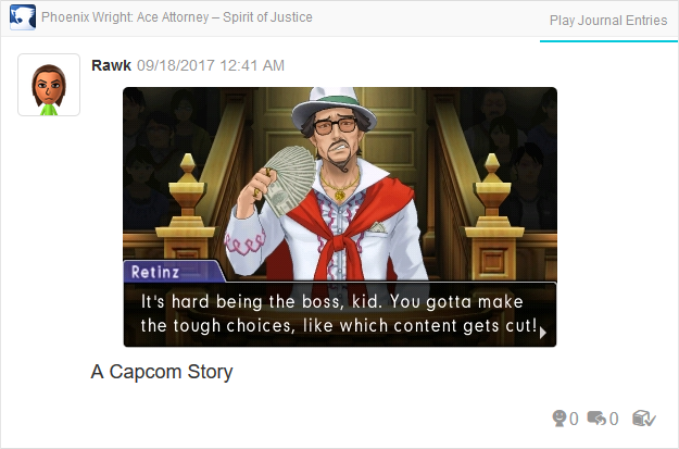 Phoenix Wright Ace Attorney Spirit of Justice Roger Retinz cut content