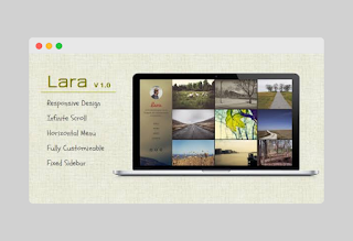 Lara Blogger Template Free Download |