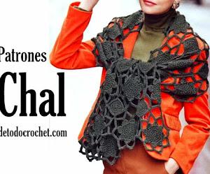 Chal fuera de serie 😍 | patrones crochet