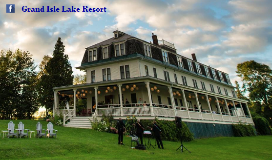 Grand Isle Lake Resort, northern part of Grand Isle in Lake Champlain (Vermont side)
