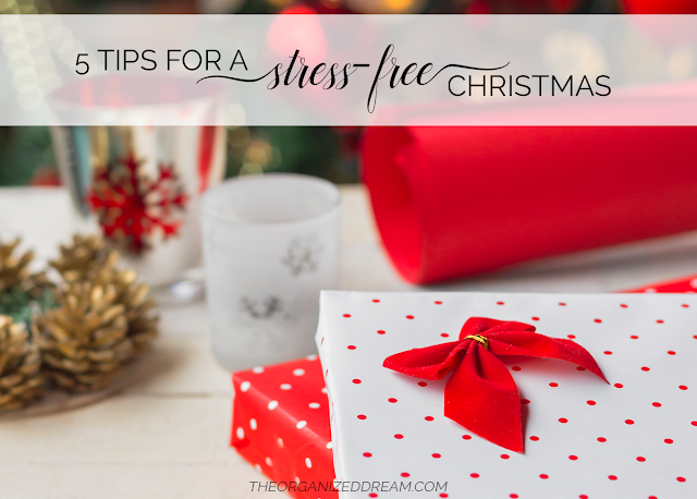 5 Tips for A Stress-Free Christmas   #holidays #christmas #lifestyle #tipsandtricks #selfcare