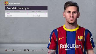 PES 2020 Faces New Lionel Messi Face
