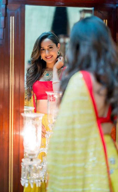 Pragya Jaiswal Stills At Teach For Change Event