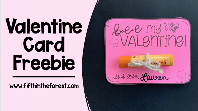 Title image for Valentine Gift Tag Freebie