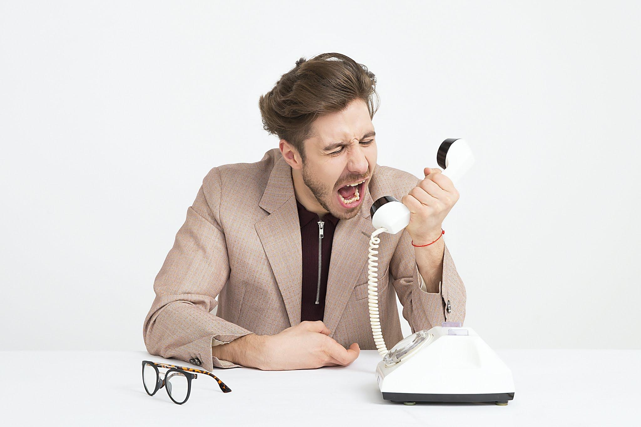 كيف اتجنب المكالمات الالية غير الرغوب فيها؟
