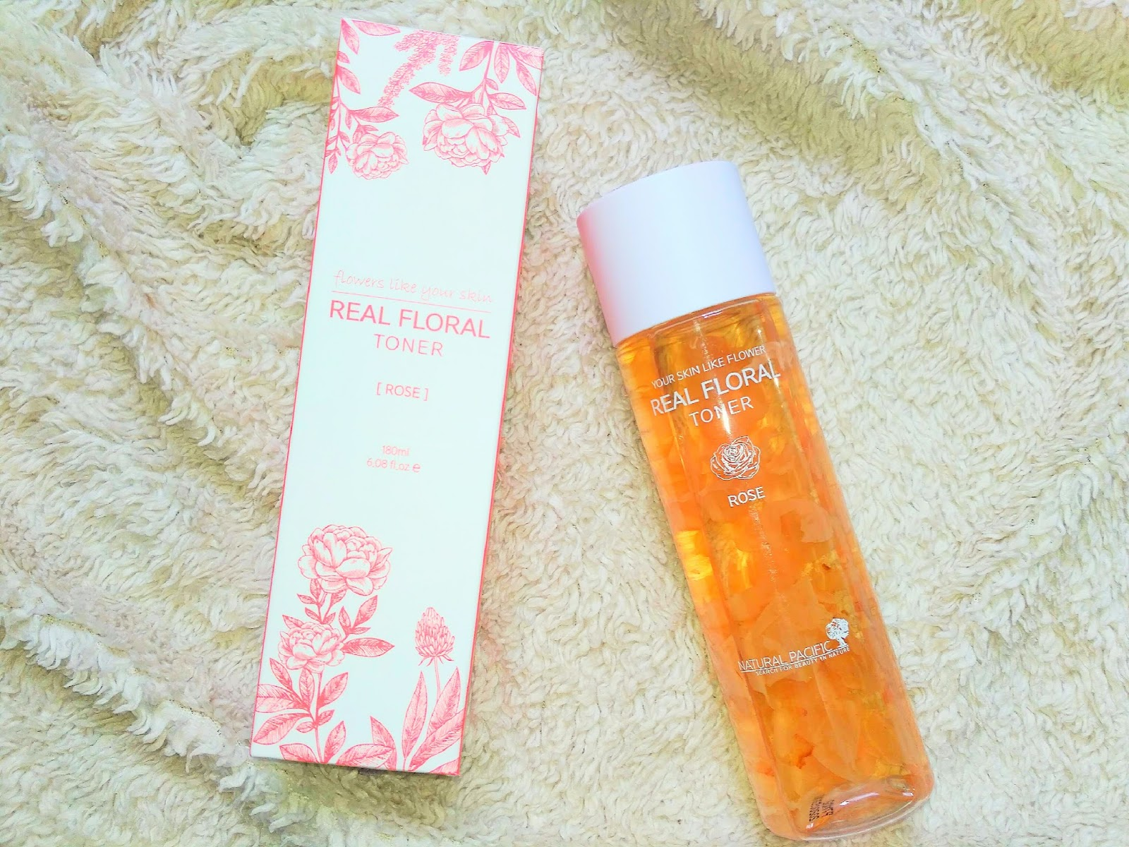 Natural Pacific Real Rose Floral Toner Review