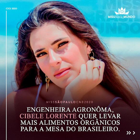 Cibele Lorene - Miss São Paulo CNB 2020