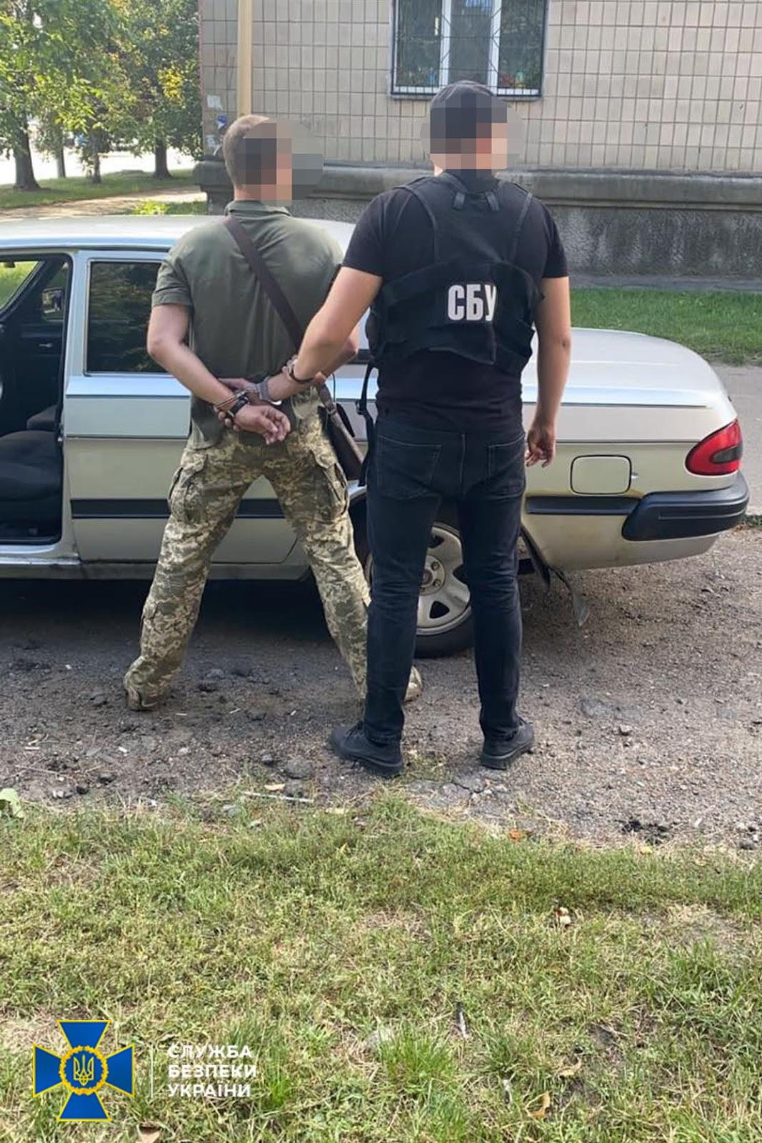 заарештував водія черкаського облвійськкома