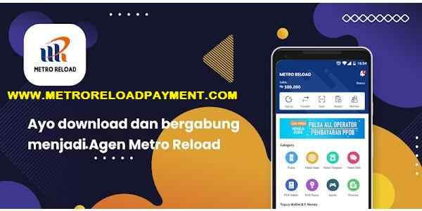 Produk PPOB Pascabayar Metro Reload Pulsa Murah