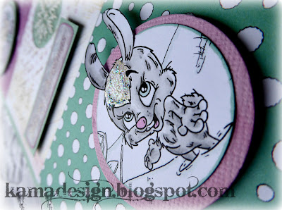 Fabrika fantasy digistamp first flower